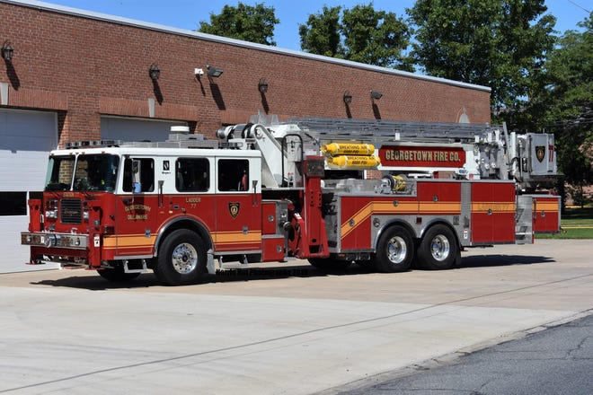 The Georgetown Fire Company is located at 100 South Bedford Street.