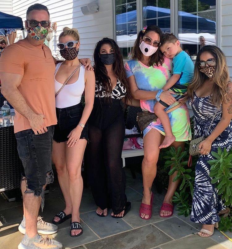Jersey Shore cast convenes for Jenni 'JWoww' Farley's summer ...
