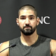 Cincinnati Reds outfielder Nick Castellanos speaks to the media Monday, July 20, 2020, before participating in summer camp.