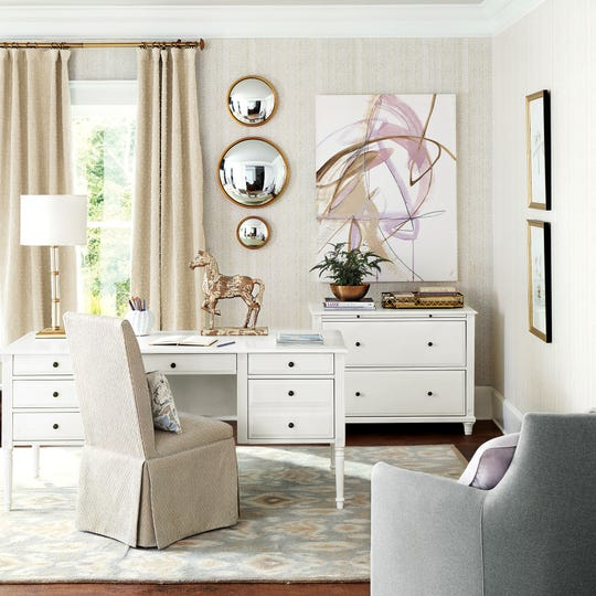 Furniture designed for files can replace those old metal cabinets of the past and blend in seamlessly with other pieces.