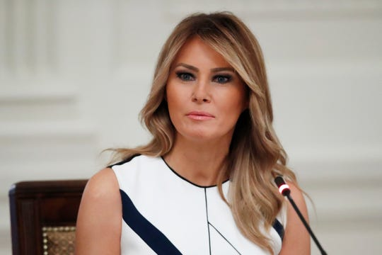 """Melania Trump had been making regular visits to schools, hospitals and other venues to promote her youth welfare initiative, """"Be Best."""""""