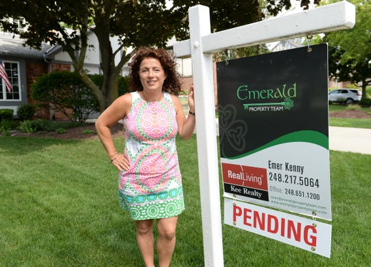 Emer Kenny, real estate agent at Real Living Kee Realty, says if a home is updated, it sells fast.