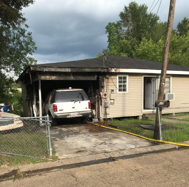 A car caught fire on July 18, 2020, spreading to the carport and then the home, causing extensive damage and displacing a family.
