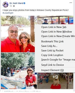 Mohave County Republican Party hosted its annual picnic on Saturday, July 19, 2020.