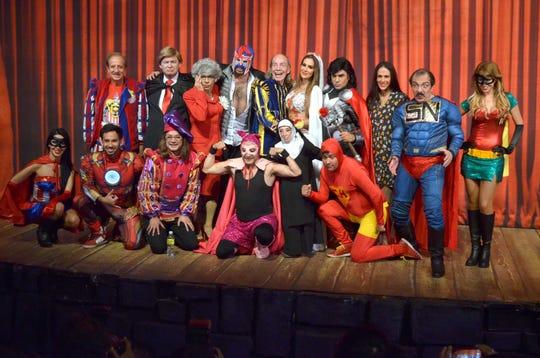 """En """"El Tenorio Cómico"""", Ninel fungió durante varias temporadas como """"Doña Inés"""", al lado de los más destacados comediantes de México, lo que nunca agradó a Giovanni Medina."""