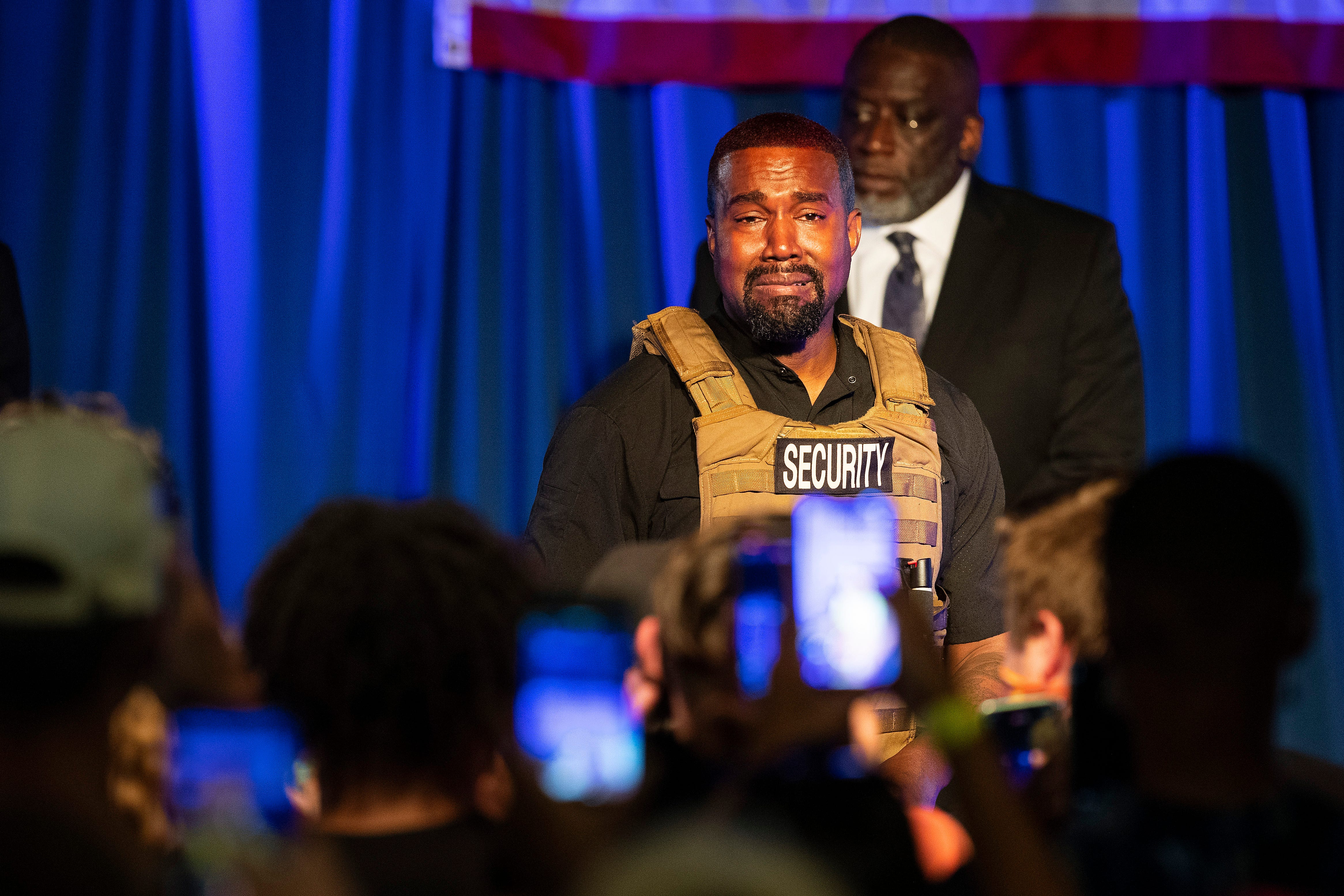 Kanye West Calls Out Harriet Tubman  Tearfully Talks