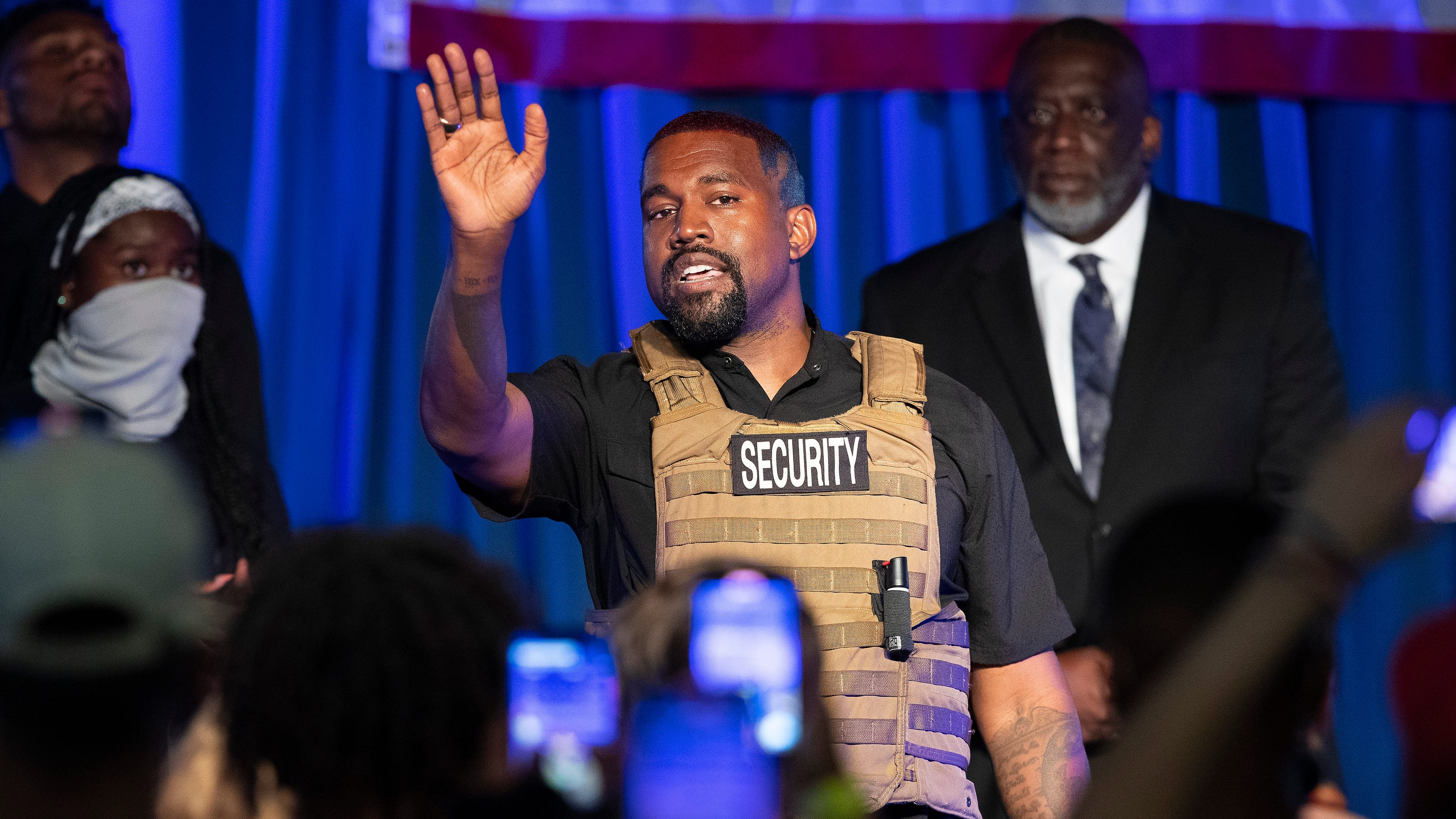 Kanye West hasn't filed as a presidential candidate in South Dakota