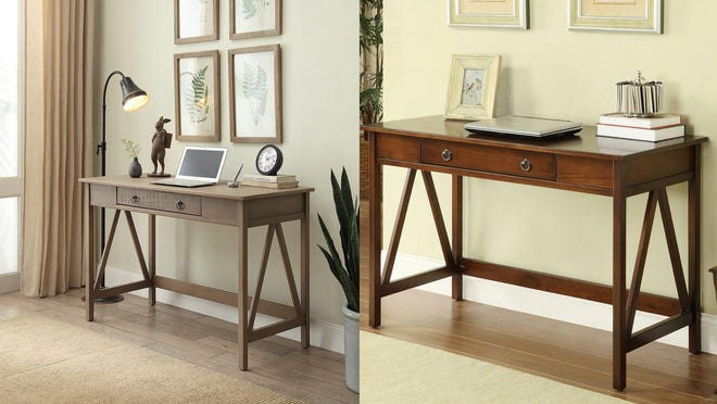 10 Popular Desks Under 150 That Are Still In Stock On Wayfair And More - Sofa Table Writing Desk