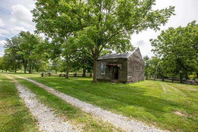 Maplewood Farm in Boone County was home to Margaret Garner, an enslaved Black woman, and her family. Historians believed Garner worked in the two-room house. The Garners escaped in 1856 into Ohio but were recaptured in Cincinnati by U.S. marshals accompanied by Gaines and a posse of men. Margaret Garner slit the throat of her 2-year-old daughter rather than see her face a life of slavery and stabbed herself and her other three children. Photo shot Friday July 17, 2020.