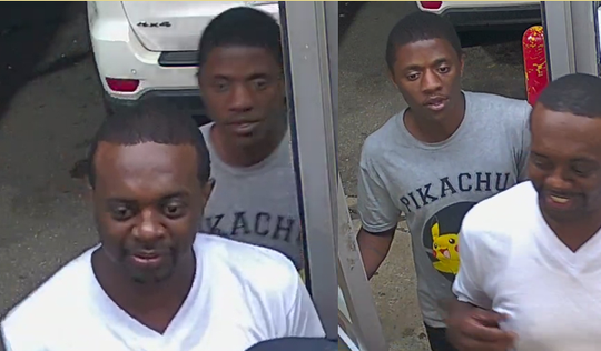 The two individuals police are asking help from the public to identify. Police believe these men will have more information about the incident to help with the investigation. (Dearborn Police Department)