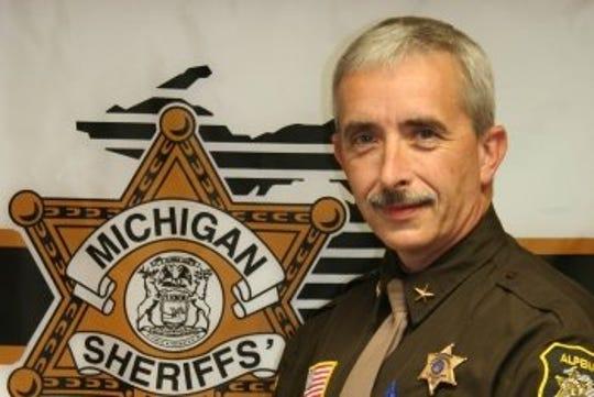 Sheriff Steve Kieliszewski is shown in a photo from the Alpena County Sheriff's Office website.