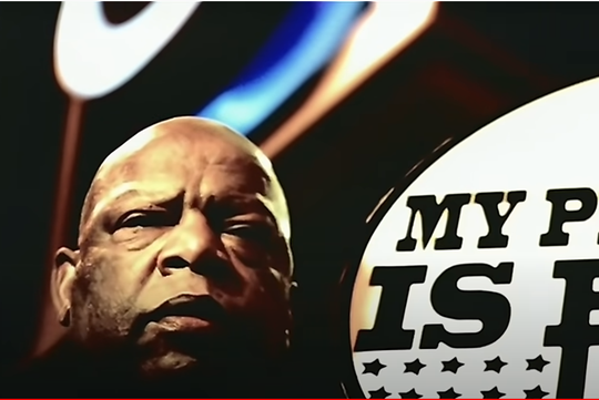 """Rep. John Lewis makes a cameo appearance in Young Jeezy's music video for his song """"My President."""""""