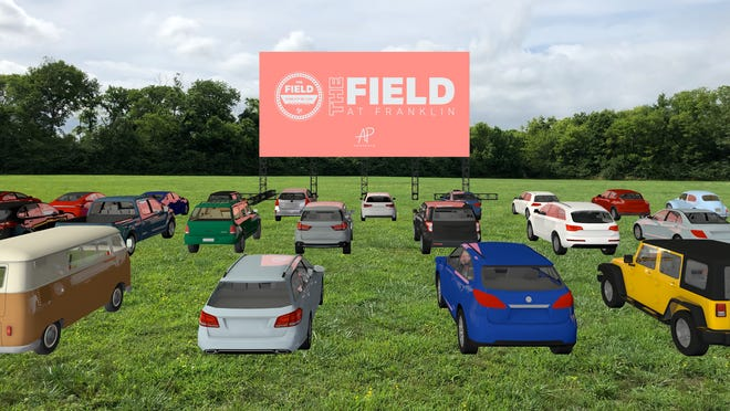 The Field at Franklin can have up to 175 cars for events.