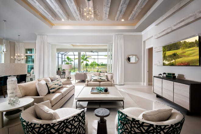 Vogue Interiors' Salvatore Giso, IDS has completed the interior design for Stock Signature Homes' furnished Mayfield III model in the Genoa neighborhood at Lakewood Ranch.