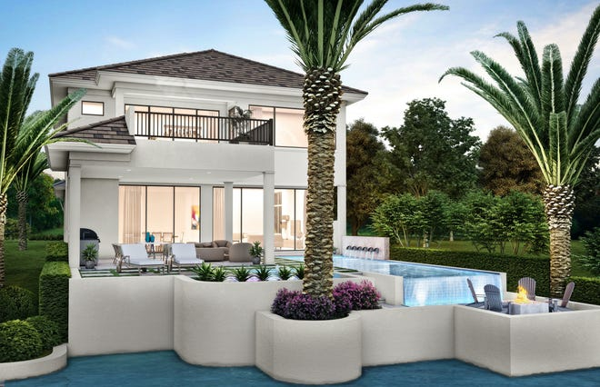 Seagate Development Group's Monterey model in the Isola Bella neighborhood at Talis Park in North Naples is now open for viewing and purchase.