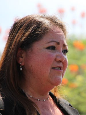 Denice Garcia demanded justice on July 21, 2020, outside of a Maryvale police station, in the fatal shooting of her son, James Garcia, by two Phoenix police officers on the Fourth of July.