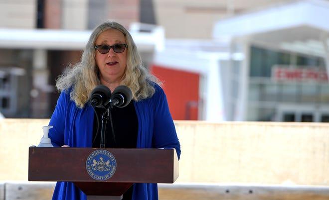 Pennsylvania Secretary of Health Dr. Rachel Levine.