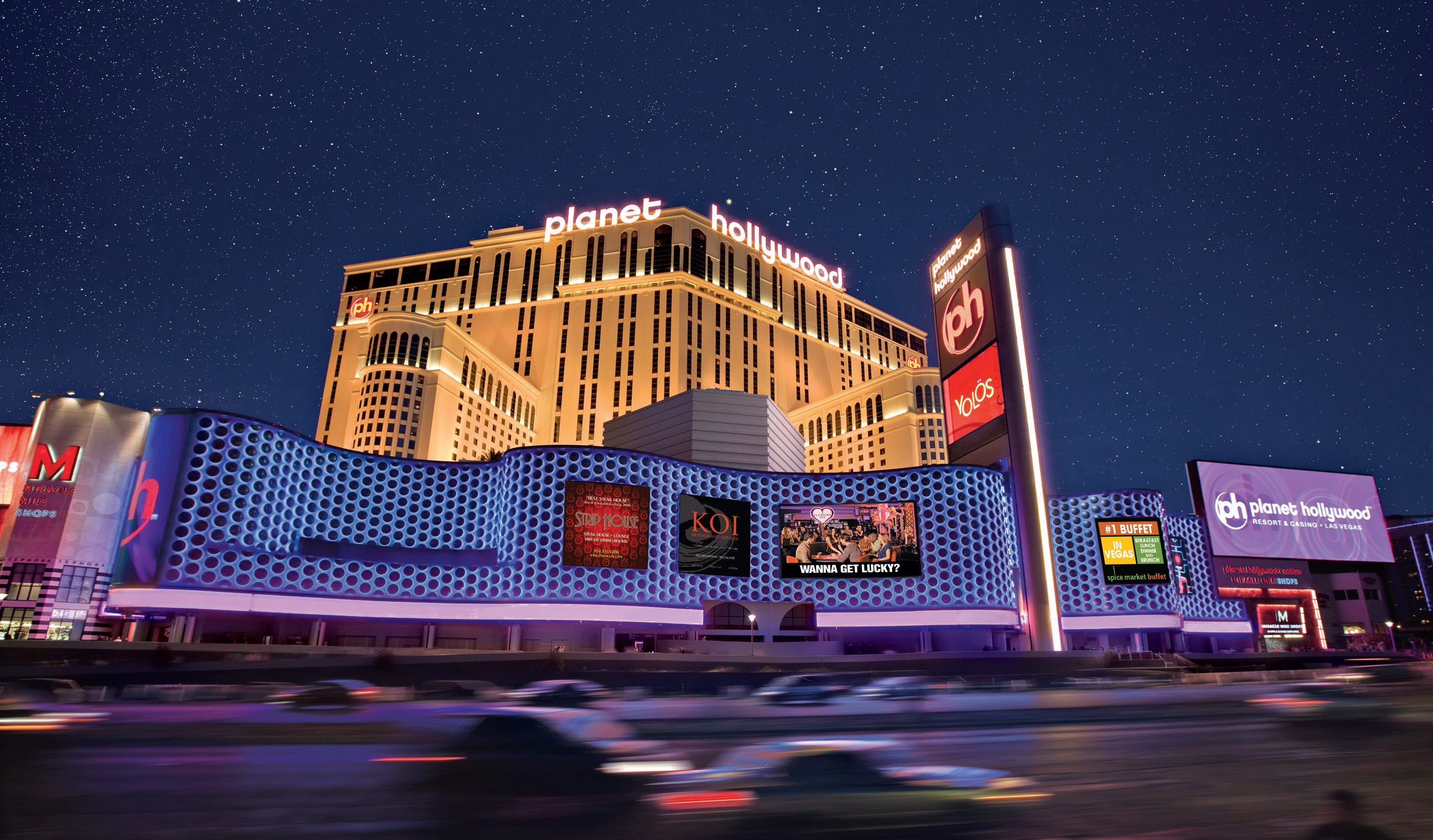 Planet Hollywood Las Vegas to reopen, but the hotel is only booking weekend stays