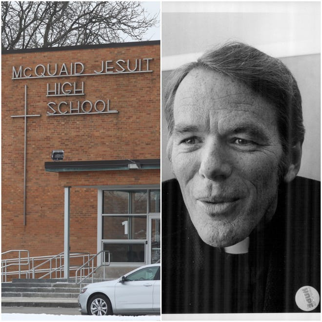 """The Rev. William O'Malley, a McQuaid Jesuit High School teacher who starred in the 1973 horror blockbuster """"The Exorcist,"""" is among those accused of sexually abusing students at the high school."""