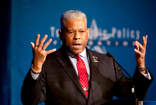 Allen West was elected chairman of the Texas GOP early Monday.