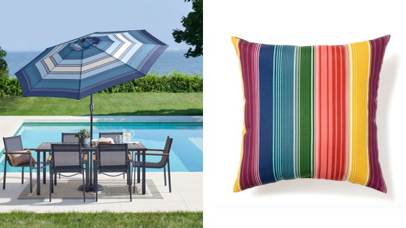 Grab fun patio accents and durable furniture at Kohl's this week.