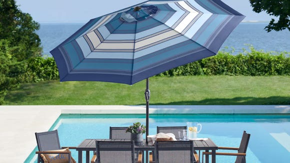 This umbrella is a must-have for outdoor spaces.
