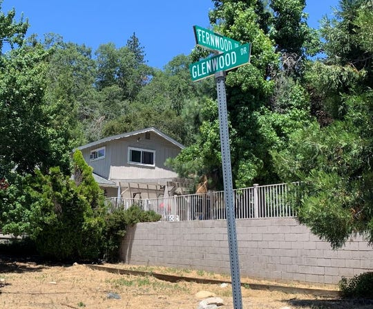 The Bergheim in Crestline, California, where lawyer Marc Angelucci was killed on July 11th. A connection is investigated with a shootout at the home of a federal judge in New Jersey