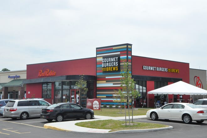 Red Robin Gourmet Burgers and Brews opened in Dover July 13.