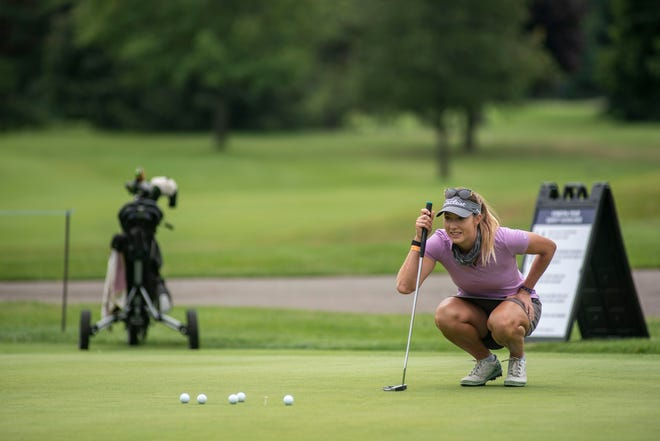 Battle Creek-area golfer Gabrielle Shipley is among the leaders after the first day of the Symetra Tour FireKeepers Casino Hotel Championship.