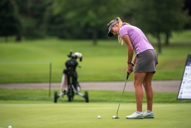 Gabrielle Shipley is in second place going into the final day of the FireKeepers Casino Hotel Championship at Battle Creek Country Club.