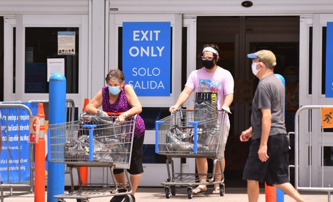 Wearing masks is mandatory at Walmart, Sam's Club and a lot of other national chains.