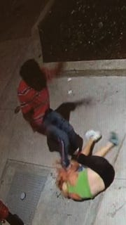 Cincinnati Police are attempting to identify suspects they say were involved in a felonious assault incident on Republic Street in Over-the-Rhine.