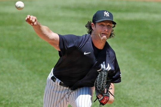 Gerrit Cole is the new ace of the New York Yankees staff.