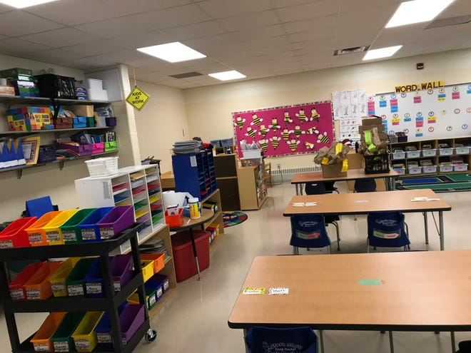 One of the new 5K classrooms at Luxemburg-Casco Primary School. The district issued a preliminary plan to re-open Sept. 1 for in-person classes, although online options will be available, with a final plan to be approved Aug. 5.