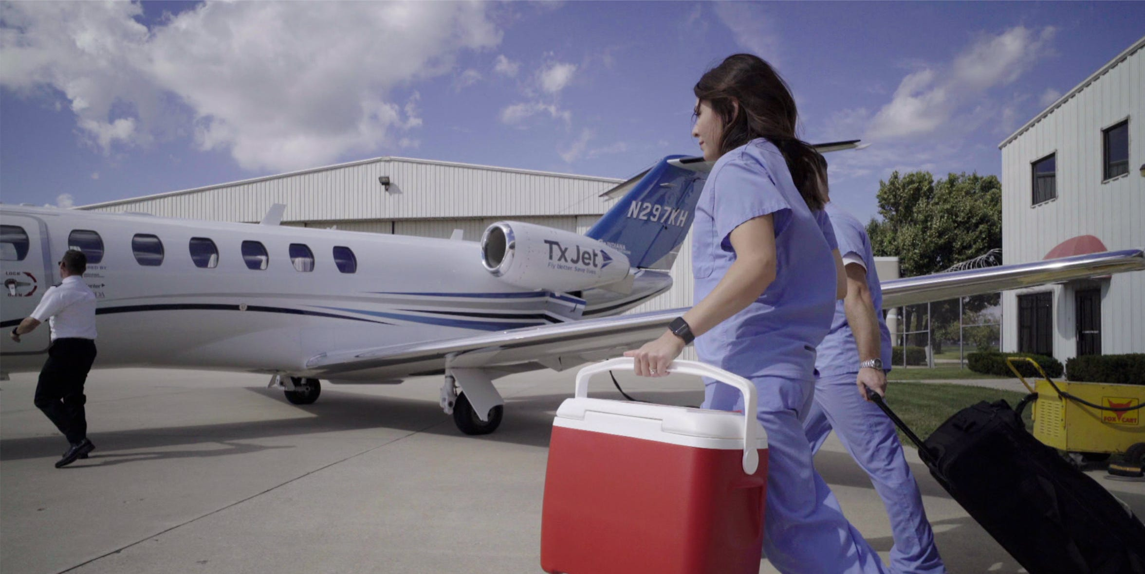 TxJet is the first nationwide provider of organ donation aviation.