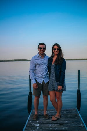 Colin Shepet and Alexi Loomis created Dockside Watercraft Cleaners, a mobile boat detailing business.