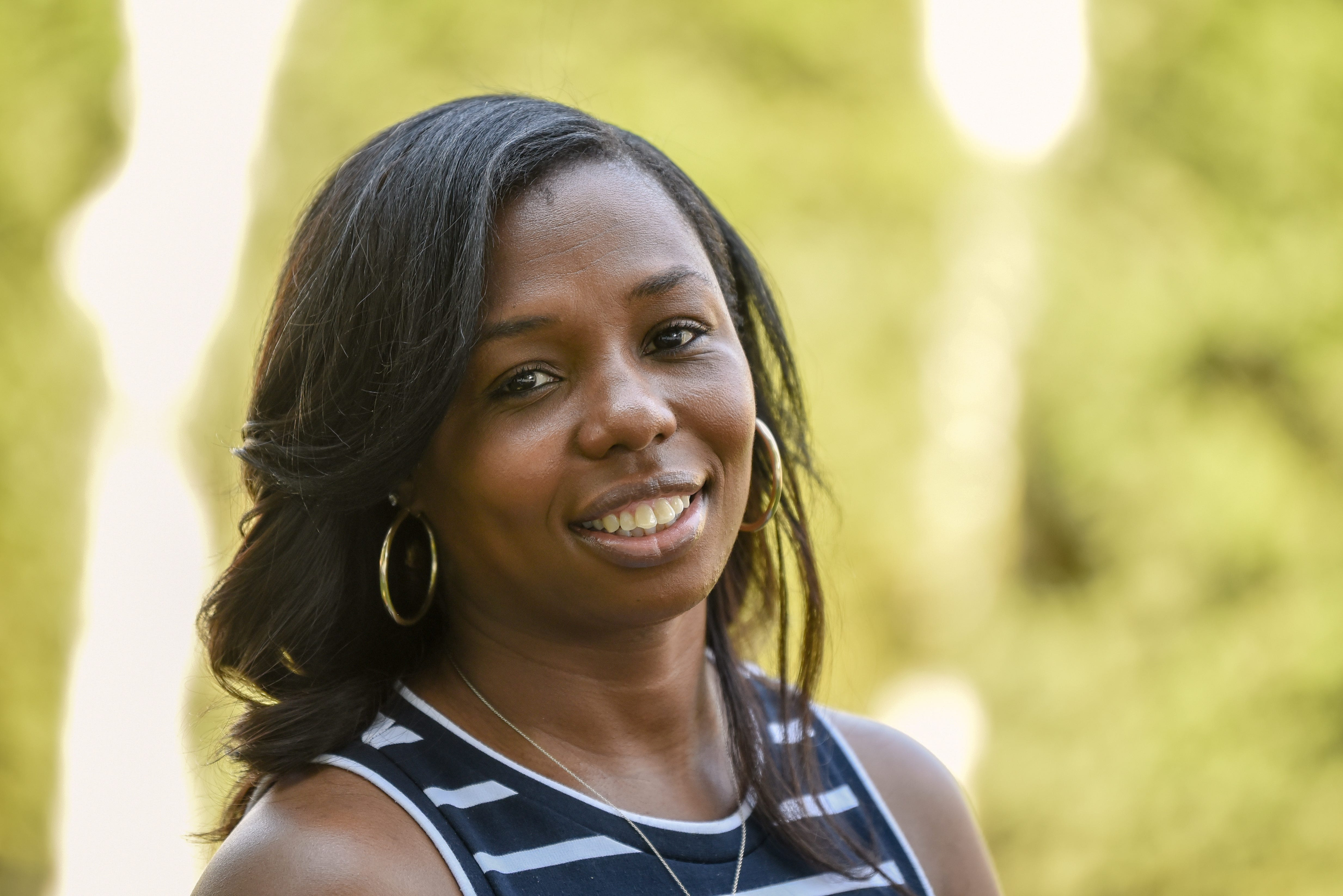 """Iaishia Smith of Avenel, New Jersey, lost her daughter a week after Smith's doctor assured her everything was fine. She had a stillbirth at 38 weeks, just 11 days before her due date. """"It was the worst day of my life,"""" Smith said."""