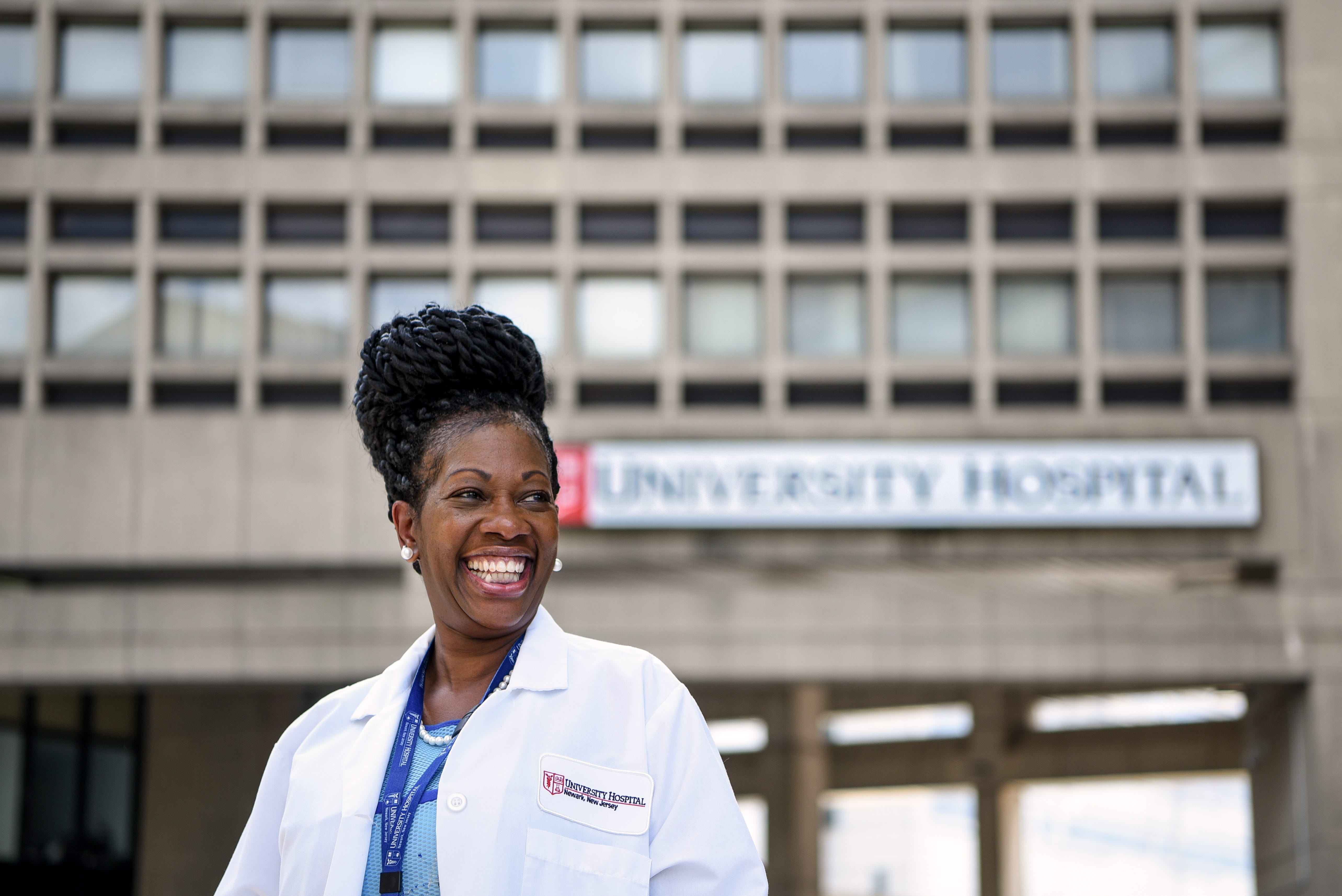 """Dr. Paige Long Sharps, Physician Advisor at University Hospital in Newark, New Jersey, was an OBGYN for almost 22 years at Montefiore Medical Center in the Bronx. She believes women need to be their own advocates. """"There are some excellent great doctors out advocating,"""" she said. """"And now we're bringing things to the forefront, and speaking on biases that some of us may not be aware of — and there are biases even among doctors of color, towards people of color."""""""