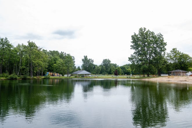 The pond at Sutherland Park in Kimball Township has tested positive for E. Coli.