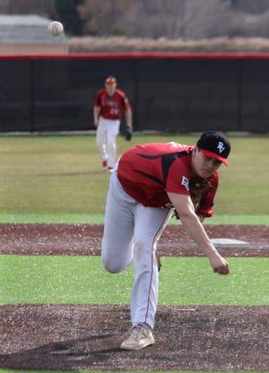 Pitcher Cole Hupke has helped lead Brandon Valley as the second seed in the state Legion baseball tournament. Hupke pitched a perfect game earlier this year.