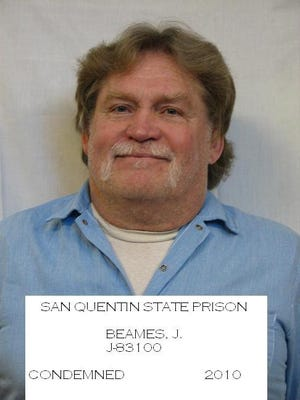 Condemend Tulare County man John Beames dies of COVID-19 complications at San Quentin State Prison.