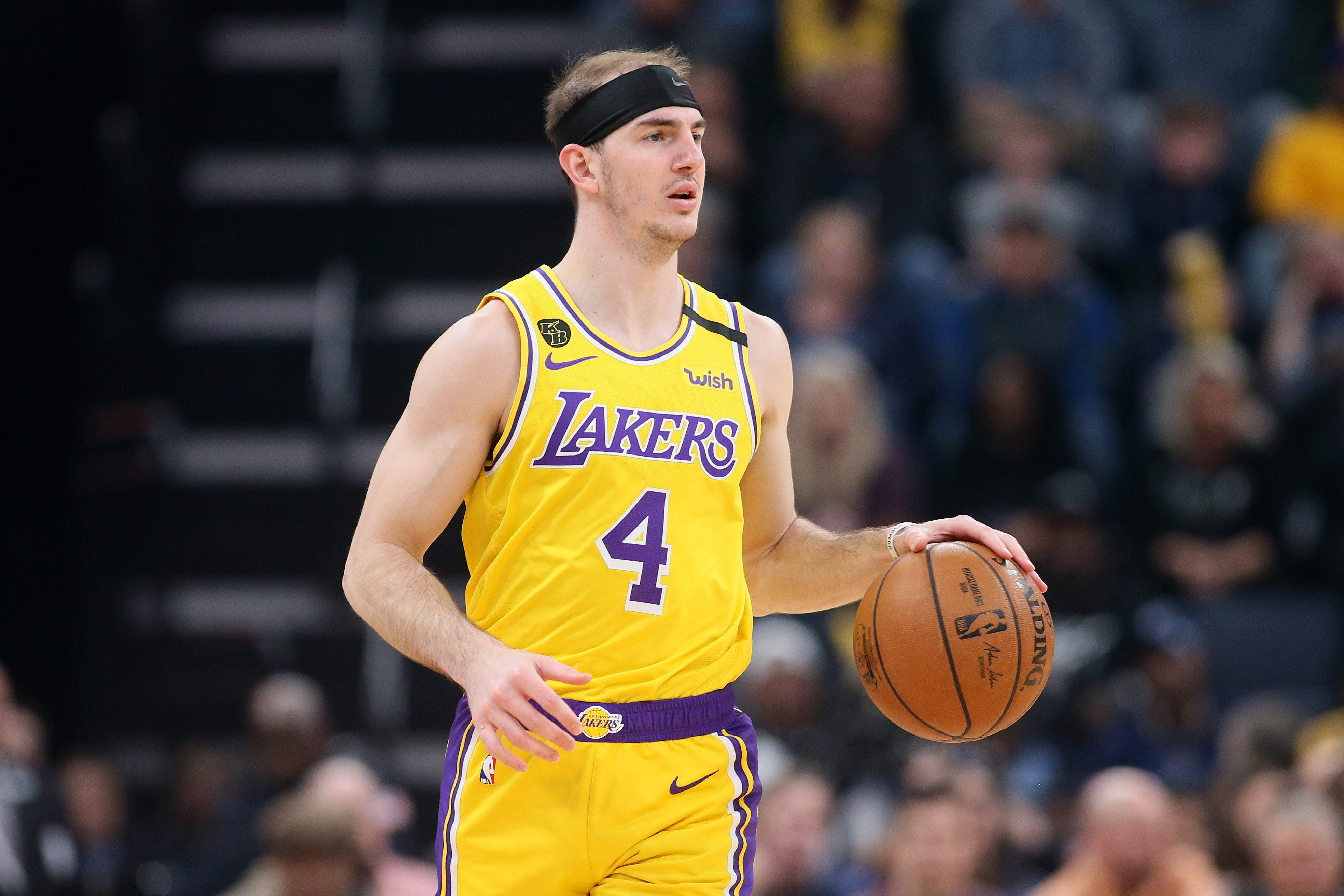 NBA bubble: Alex Caruso skips sister's wedding to stay with LA Lakers