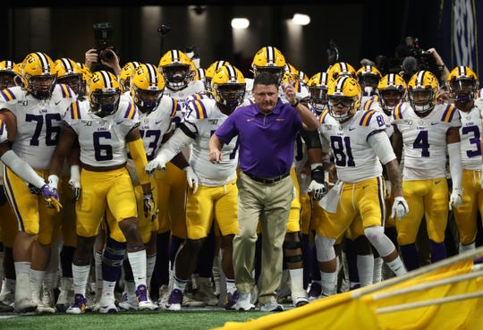 Ed Orgeron has been head coach at LSU since 2016.