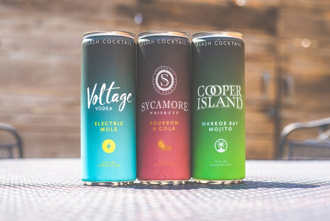 Sycamore Distilling in Milford has launched a line of ready-to-drink canned cocktails.