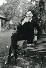Ernest Hemingway, pictured here in 1921, was 6 weeks old in the summer of 1899 when his parents brought him to northern Michigan's Walloon Lake, then named Bear Lake, near Petoskey. Dr. and Mrs. Hemingway built a cottage on the lake and for the next 22 years, Hemingway spent his summers in the area that was just becoming known as Up North,
