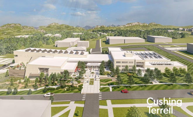 The Montana Heritage Center will be built on state-owned property on the Capitol Complex at 6th Avenue and Roberts Street in Helena.