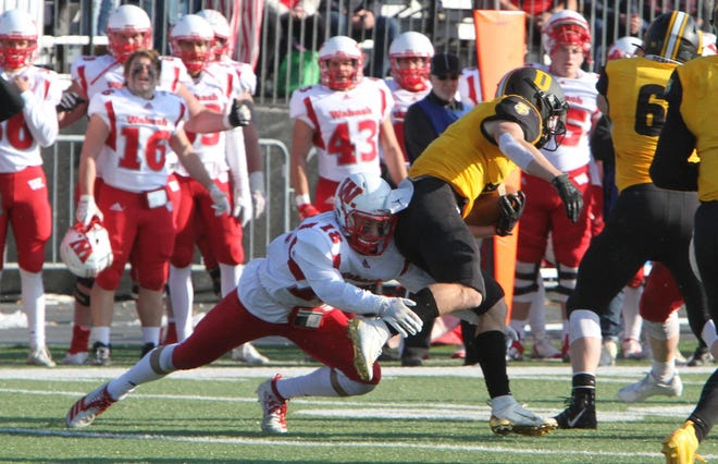 Central Catholic graduate Jake Page will be a senior at Wabash College this year.