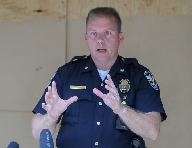 LMPD's Major Aubrey Gregory outlines the agency's plans for weekend protests in Louisville