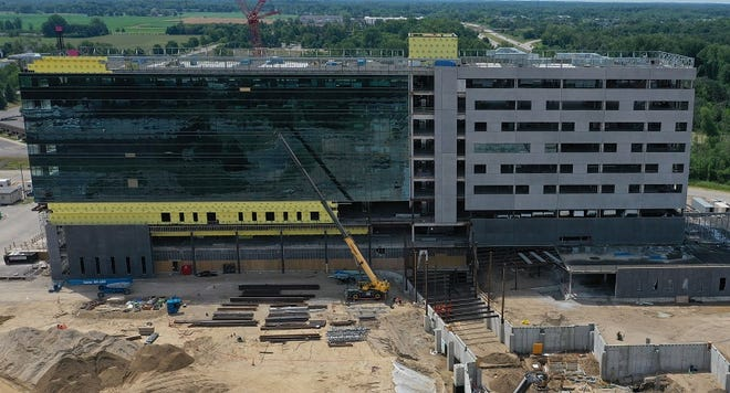 When complete, it will be a 240-bed, state-of-the-art hospital, cancer center, medical services building and other facilities to support health care delivery, educational opportunities and medical research.
