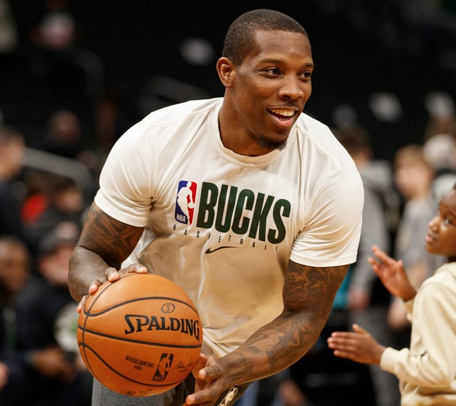 Bucks guard Eric Bledsoe is joining his teammates in Orlando.